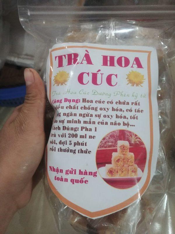 trà hoa cúc đường phèn